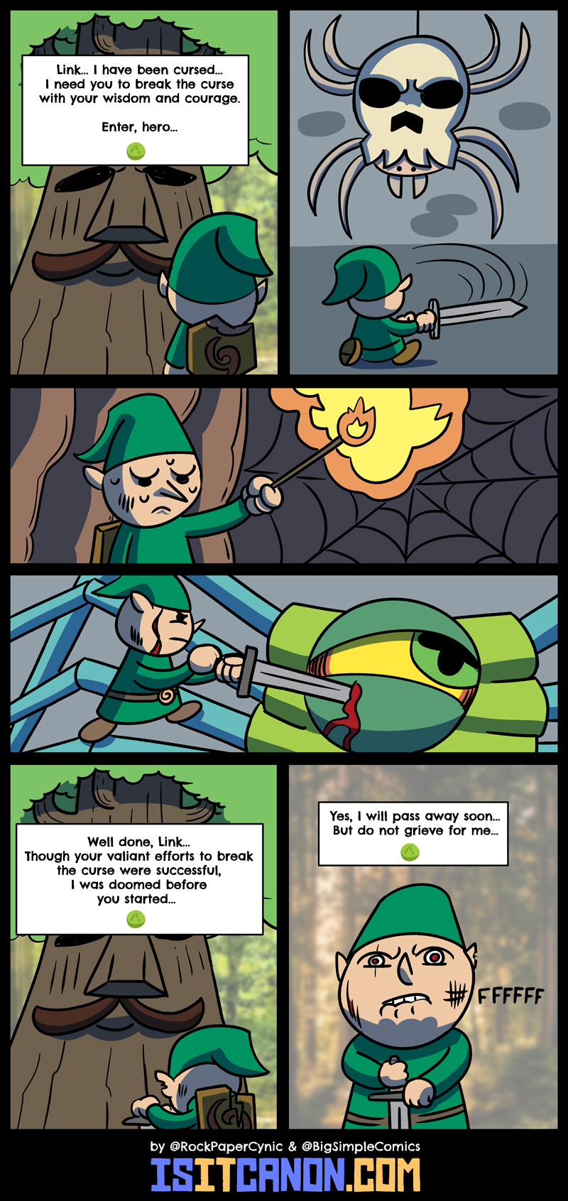 The whole Deku Tree quest in The Legend of Zelda: Ocarina of Time makes NO SENSE and here is why